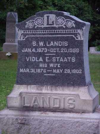LANDIS, VIOLA E. - Meigs County, Ohio | VIOLA E. LANDIS - Ohio Gravestone Photos