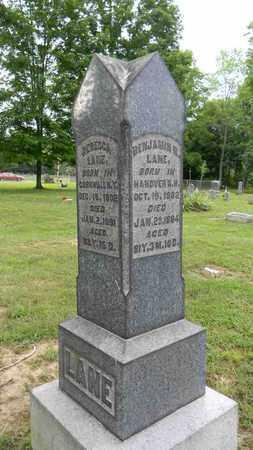 LANE, BENJAMIN R. - Meigs County, Ohio | BENJAMIN R. LANE - Ohio Gravestone Photos