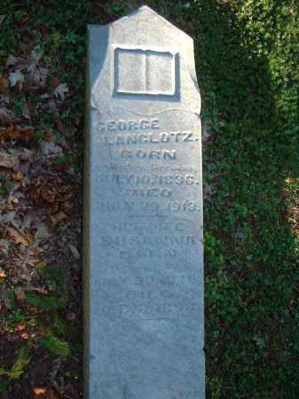 LANGLOTZ, GEORGE - Meigs County, Ohio | GEORGE LANGLOTZ - Ohio Gravestone Photos