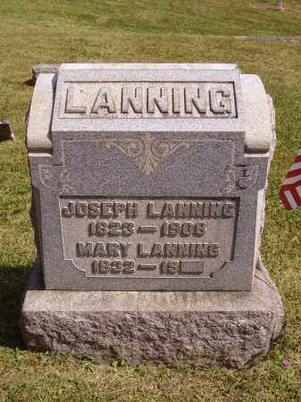 LANNING, MARY - Meigs County, Ohio | MARY LANNING - Ohio Gravestone Photos