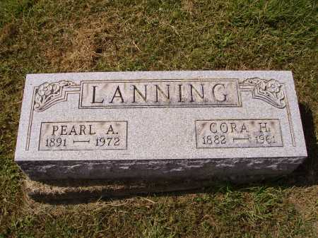 LANNING, PERAL A. - Meigs County, Ohio | PERAL A. LANNING - Ohio Gravestone Photos