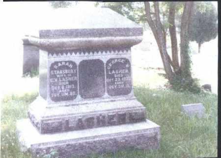 LASHER, GEORGE V. - Meigs County, Ohio | GEORGE V. LASHER - Ohio Gravestone Photos