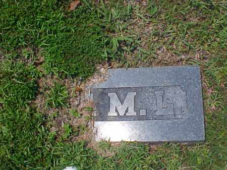 LASLEY, ? M. L. - Meigs County, Ohio | ? M. L. LASLEY - Ohio Gravestone Photos