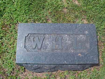 LASLEY, W.H.L. - Meigs County, Ohio | W.H.L. LASLEY - Ohio Gravestone Photos