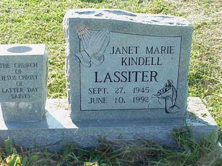 LASSITER, JANET MARIE KINDELL - Meigs County, Ohio | JANET MARIE KINDELL LASSITER - Ohio Gravestone Photos