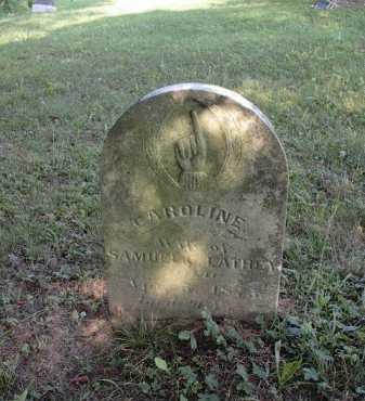 LATHEY, CAROLINE - Meigs County, Ohio | CAROLINE LATHEY - Ohio Gravestone Photos