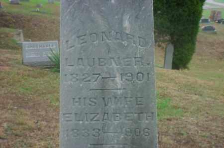 LAUBNER, ELIZABETH - Meigs County, Ohio | ELIZABETH LAUBNER - Ohio Gravestone Photos