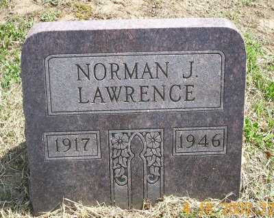LAWRENCE, NORMAN J. - Meigs County, Ohio | NORMAN J. LAWRENCE - Ohio Gravestone Photos