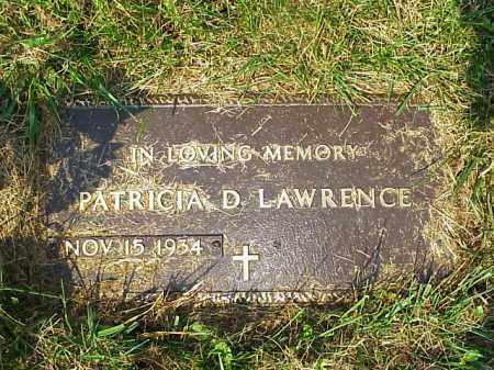 LAWRENCE, PATRICA D. - Meigs County, Ohio | PATRICA D. LAWRENCE - Ohio Gravestone Photos