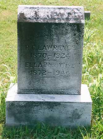 LAWRENCE, MATTIE ELLA - Meigs County, Ohio | MATTIE ELLA LAWRENCE - Ohio Gravestone Photos