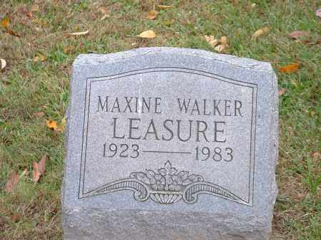 LEASURE, MAXINE - Meigs County, Ohio | MAXINE LEASURE - Ohio Gravestone Photos