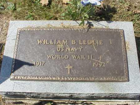 LEDLIE, WILLIAM BERNARD - Meigs County, Ohio | WILLIAM BERNARD LEDLIE - Ohio Gravestone Photos