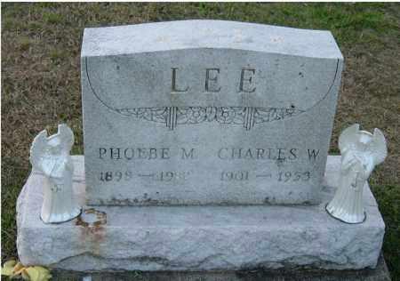 LEE, PHOEBE M. - Meigs County, Ohio | PHOEBE M. LEE - Ohio Gravestone Photos