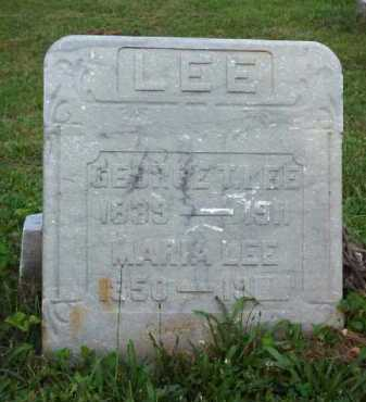 LEE, MARIA - Meigs County, Ohio | MARIA LEE - Ohio Gravestone Photos