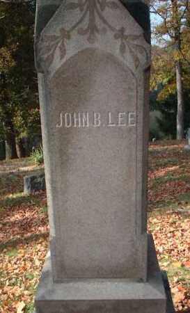 LEE, JOHN B. - Meigs County, Ohio | JOHN B. LEE - Ohio Gravestone Photos