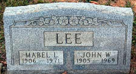LEE, MABEL L. - Meigs County, Ohio | MABEL L. LEE - Ohio Gravestone Photos