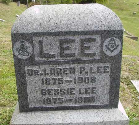FOREST LEE, BESSIE - Meigs County, Ohio   BESSIE FOREST LEE - Ohio Gravestone Photos