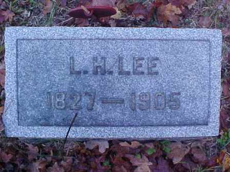 LEE, L. H. - Meigs County, Ohio | L. H. LEE - Ohio Gravestone Photos
