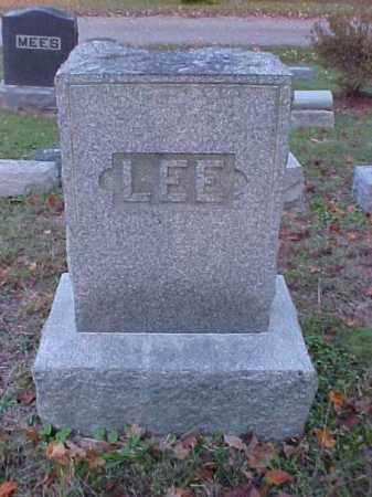 LEE, MONUMENT - Meigs County, Ohio | MONUMENT LEE - Ohio Gravestone Photos