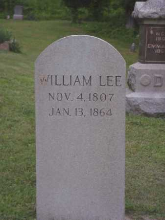 LEE, WILLIAM - Meigs County, Ohio | WILLIAM LEE - Ohio Gravestone Photos