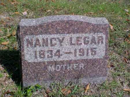 LEGAR, NANCY ANN - Meigs County, Ohio   NANCY ANN LEGAR - Ohio Gravestone Photos