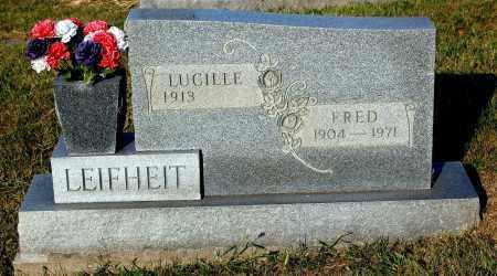 LEIFHEIT, LUCILLE - Meigs County, Ohio | LUCILLE LEIFHEIT - Ohio Gravestone Photos