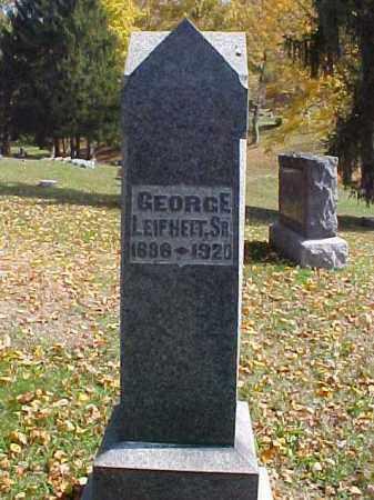 LEIFHEIT, GEORGE, SR. - Meigs County, Ohio | GEORGE, SR. LEIFHEIT - Ohio Gravestone Photos