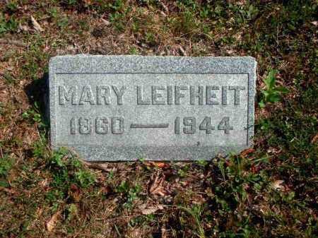 HETZEL LEIFHEIT, MARY - Meigs County, Ohio | MARY HETZEL LEIFHEIT - Ohio Gravestone Photos
