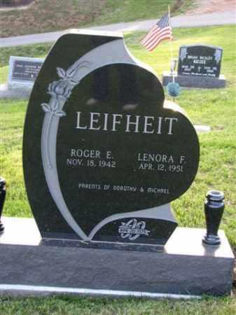 LEIFHEIT, LENORA F. - Meigs County, Ohio | LENORA F. LEIFHEIT - Ohio Gravestone Photos