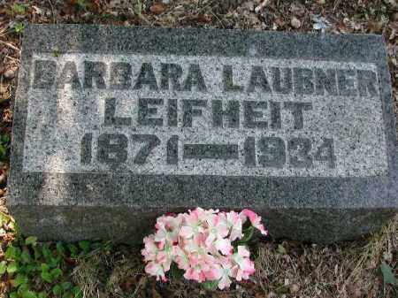 LEIGHEIT, BARBARA - Meigs County, Ohio   BARBARA LEIGHEIT - Ohio Gravestone Photos