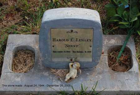 LEMLEY, HAROLD E. - Meigs County, Ohio   HAROLD E. LEMLEY - Ohio Gravestone Photos