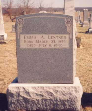 LENTNER, EMMA A. - Meigs County, Ohio | EMMA A. LENTNER - Ohio Gravestone Photos