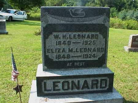 LEONARD, ELIZA M. - Meigs County, Ohio   ELIZA M. LEONARD - Ohio Gravestone Photos