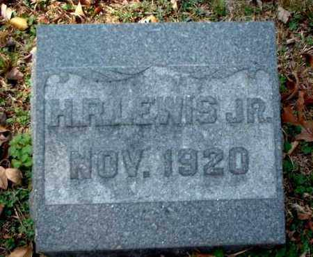 LEWIS, H. R., JR. - Meigs County, Ohio | H. R., JR. LEWIS - Ohio Gravestone Photos