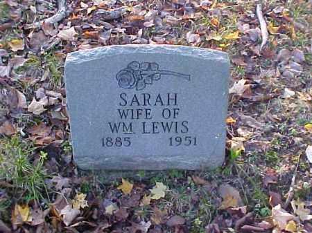 LEWIS, SARAH - Meigs County, Ohio | SARAH LEWIS - Ohio Gravestone Photos
