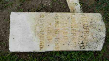 LIMBERGER, FREDERICK - Meigs County, Ohio | FREDERICK LIMBERGER - Ohio Gravestone Photos