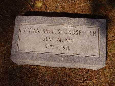 SHEETS LINDSEY, VIVIAN - Meigs County, Ohio   VIVIAN SHEETS LINDSEY - Ohio Gravestone Photos