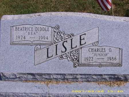 DIDDLE LISLE, MILDRED 'BEATRICE' - Meigs County, Ohio | MILDRED 'BEATRICE' DIDDLE LISLE - Ohio Gravestone Photos