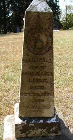LISLE, WM.R.. - Meigs County, Ohio | WM.R.. LISLE - Ohio Gravestone Photos