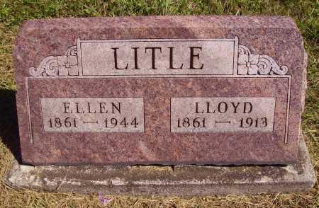 QUEEN LITLE, ELLEN - Meigs County, Ohio   ELLEN QUEEN LITLE - Ohio Gravestone Photos