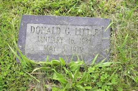 LITTLE, DONALD G. - Meigs County, Ohio | DONALD G. LITTLE - Ohio Gravestone Photos