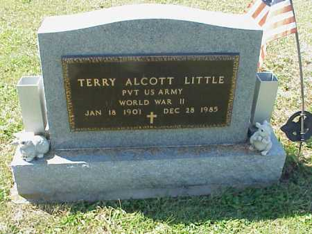 LITTLE, TERRY ALCOTT - MILITARY - Meigs County, Ohio | TERRY ALCOTT - MILITARY LITTLE - Ohio Gravestone Photos
