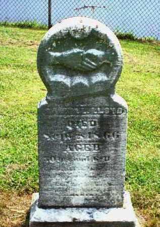 LLOYD, SAMUEL - Meigs County, Ohio   SAMUEL LLOYD - Ohio Gravestone Photos