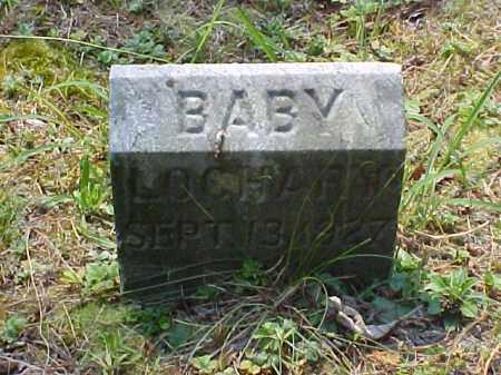 "LOCHARY, JAMES HENRY ""BABY"" - Meigs County, Ohio | JAMES HENRY ""BABY"" LOCHARY - Ohio Gravestone Photos"