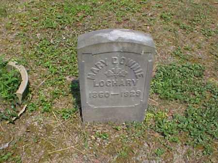 DOWNIE LOCHARY, MARY - Meigs County, Ohio   MARY DOWNIE LOCHARY - Ohio Gravestone Photos