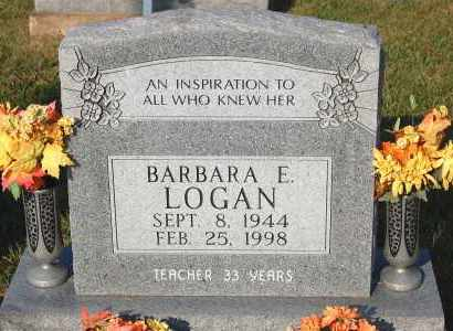 LOGAN, BARBARA E. - Meigs County, Ohio | BARBARA E. LOGAN - Ohio Gravestone Photos