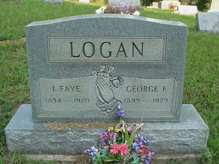 KING LOGAN, I. FAYE - Meigs County, Ohio | I. FAYE KING LOGAN - Ohio Gravestone Photos