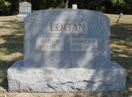 LOGAN, DONLEY F. - Meigs County, Ohio | DONLEY F. LOGAN - Ohio Gravestone Photos