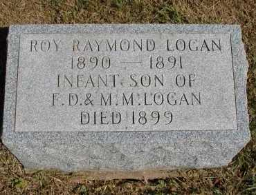 LOGAN, ROY RAYMOND - Meigs County, Ohio | ROY RAYMOND LOGAN - Ohio Gravestone Photos