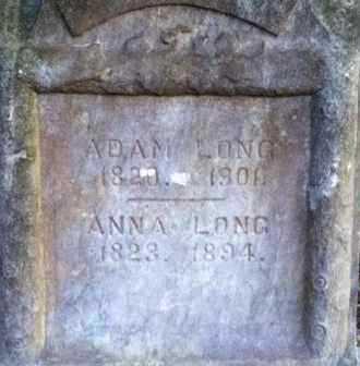LONG, ADAM - Meigs County, Ohio | ADAM LONG - Ohio Gravestone Photos